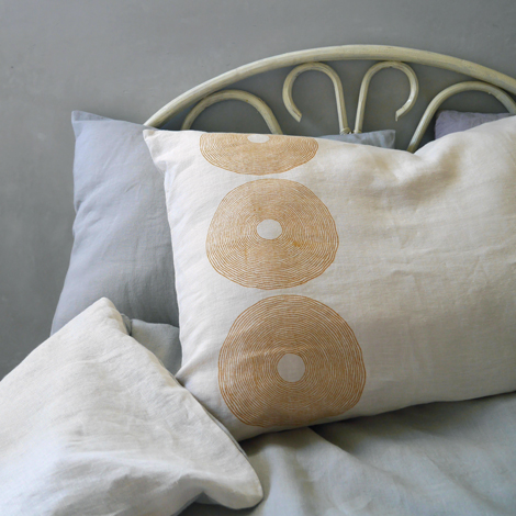 CT blockprinted pillowcases